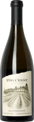 Fog Crest 2010 Estate Chardonnay 750ml