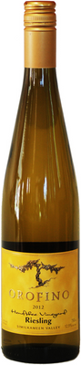 Orofino 2015 Hendsbee Vineyard Riesling 750ml