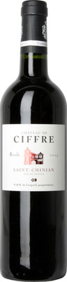 Chateau de Ciffre 2013 Saint Chinian 750ml