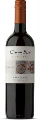 Cono Sur 2016 Bicicleta Carmenere 750ml