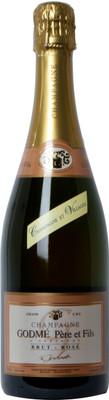 Champagne Godme Brut Rose 750ml