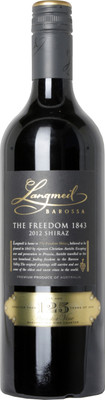 Langmeil 2012/2014 The Freedom 1843 Shiraz 750ml