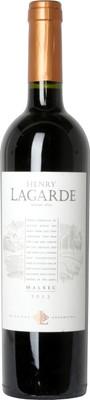 Bodega Lagarde 2012 Henry Lagarde Malbec 750ml