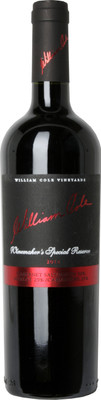 William Cole 2012 Winemaker's Special Reserve 750ml