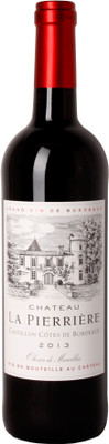 Chateau La Pierriere 2013 Cotes de Bordeaux 750ml