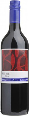 Mount Langi 2011 Billi Billi Shiraz 750ml