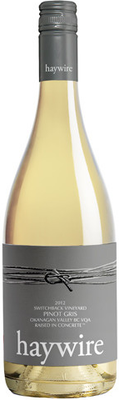Haywire 2013 Switchback Pinot Gris 750ml