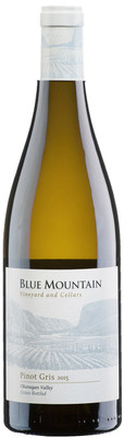 Blue Mountain 2018 Pinot Gris 750ml