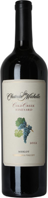 Chateau Ste. Michelle 2012 Cold Creek Merlot 750ml
