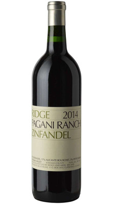 Ridge 2017 Pagani Ranch Zinfandel 750ml