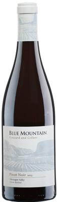 Blue Mountain 2015 Pinot Noir 750ml