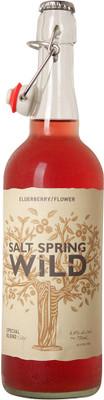 Salt Spring Wild Cider Elderberry/Flower 750ml