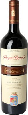 Bordon 2005 Gran Reserva Rioja 750ml