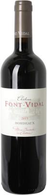 Chateau Font Vidal 2015 Classique Rouge 750ml