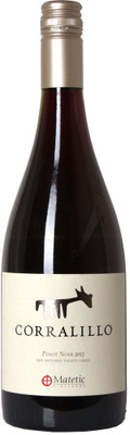 Matetic 2013 Corralillo Pinot Noir 750ml