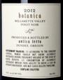 Antica Terra 2012 Botanica Pinot Noir