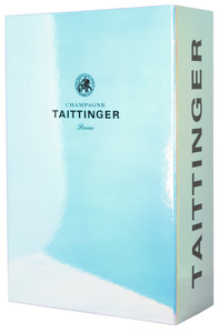 Taittinger Gift Box & 2 Glasses 750ml
