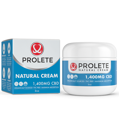Prolete Natural Face Cream 1400mg CBD
