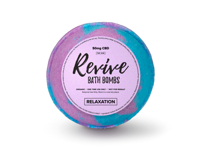 Revive 50mg CBD Relaxation Bath Bomb