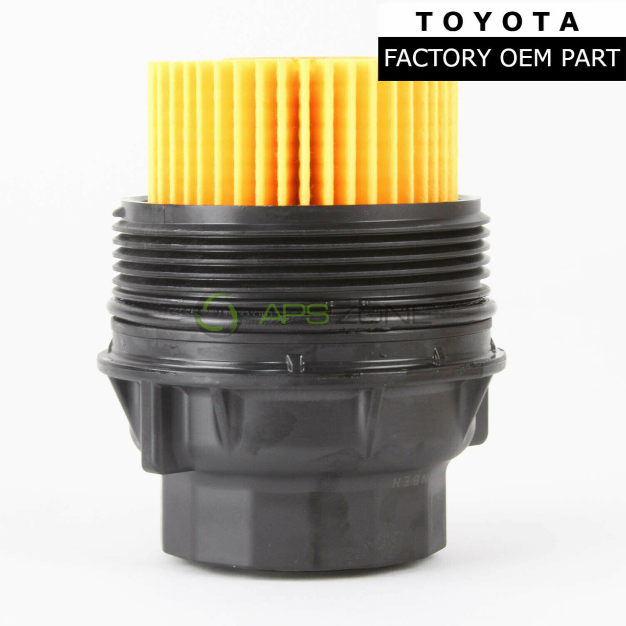 X AUTOHAUX Black Oil Filter Cap Cover 15650-38020 Replacement for Toyota 4Runner FJ Tundra for Lexus
