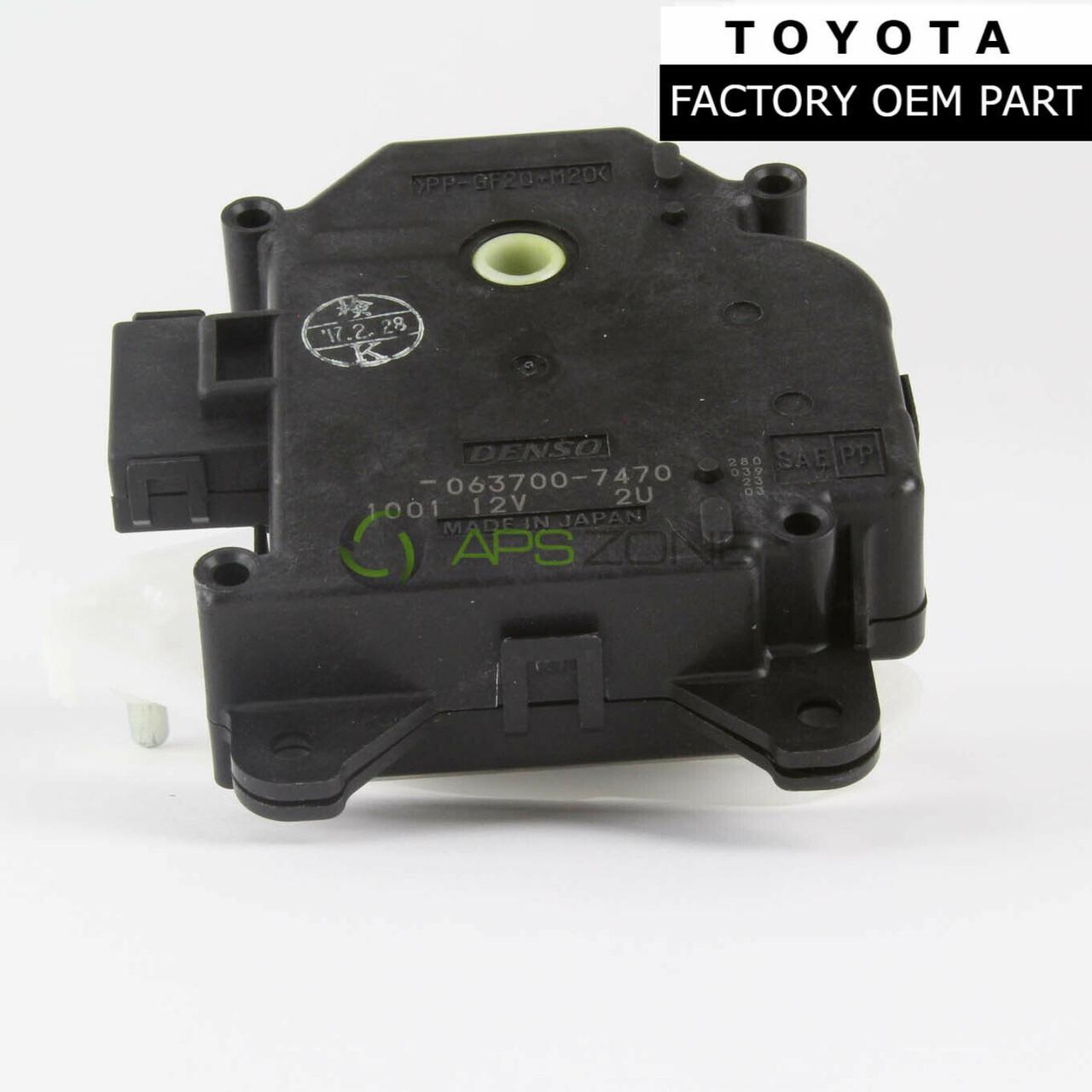 GENUINE LEXUS RX300 IS300 SC430 CLIMATE CONTROL DAMPER SERVO OEM 87106-30371