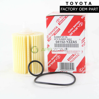 04152-YZZA5 Oil Filter For FJ Cruiser GS300 LS600H LS460 IS350 GS350 GS450H GS460 GX460 IS250 IS300 04152-38010 0415231050