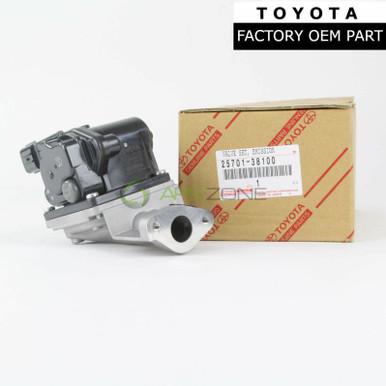 25701-38100 Toyota Valve set no.2 2570138100 New Genuine OEM emission control
