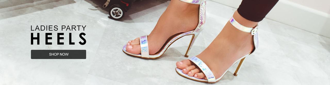 Ladies Party Heels Shop Now