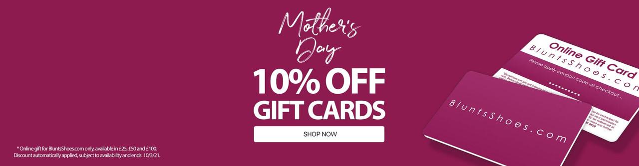 BluntsShoes.com | Online Gift Cards