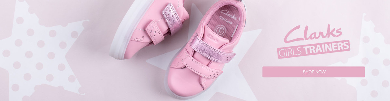 Girls Clarks Trainers Shop Now