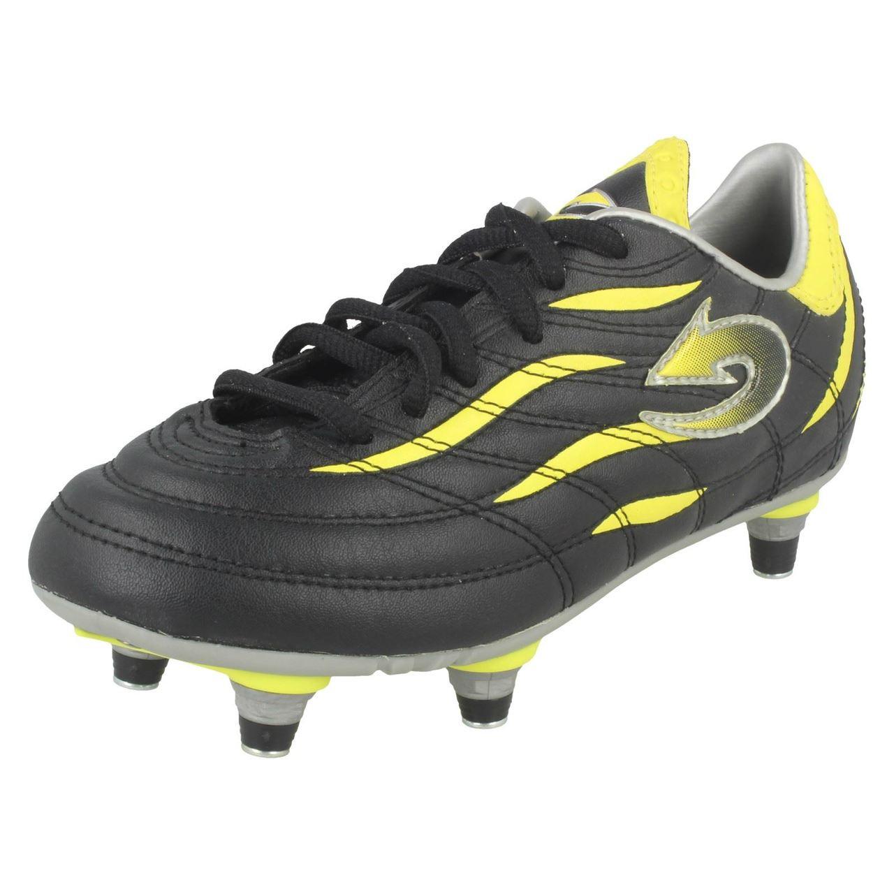 Infant Boys Arrow Football Boots Vapour