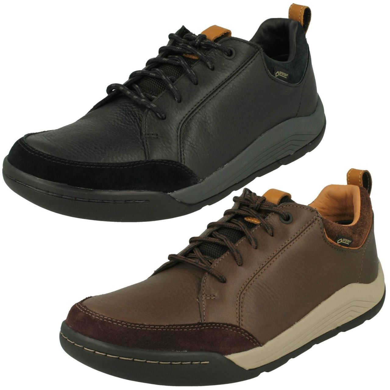 Mens Clarks Casual Gore-Tex Shoes