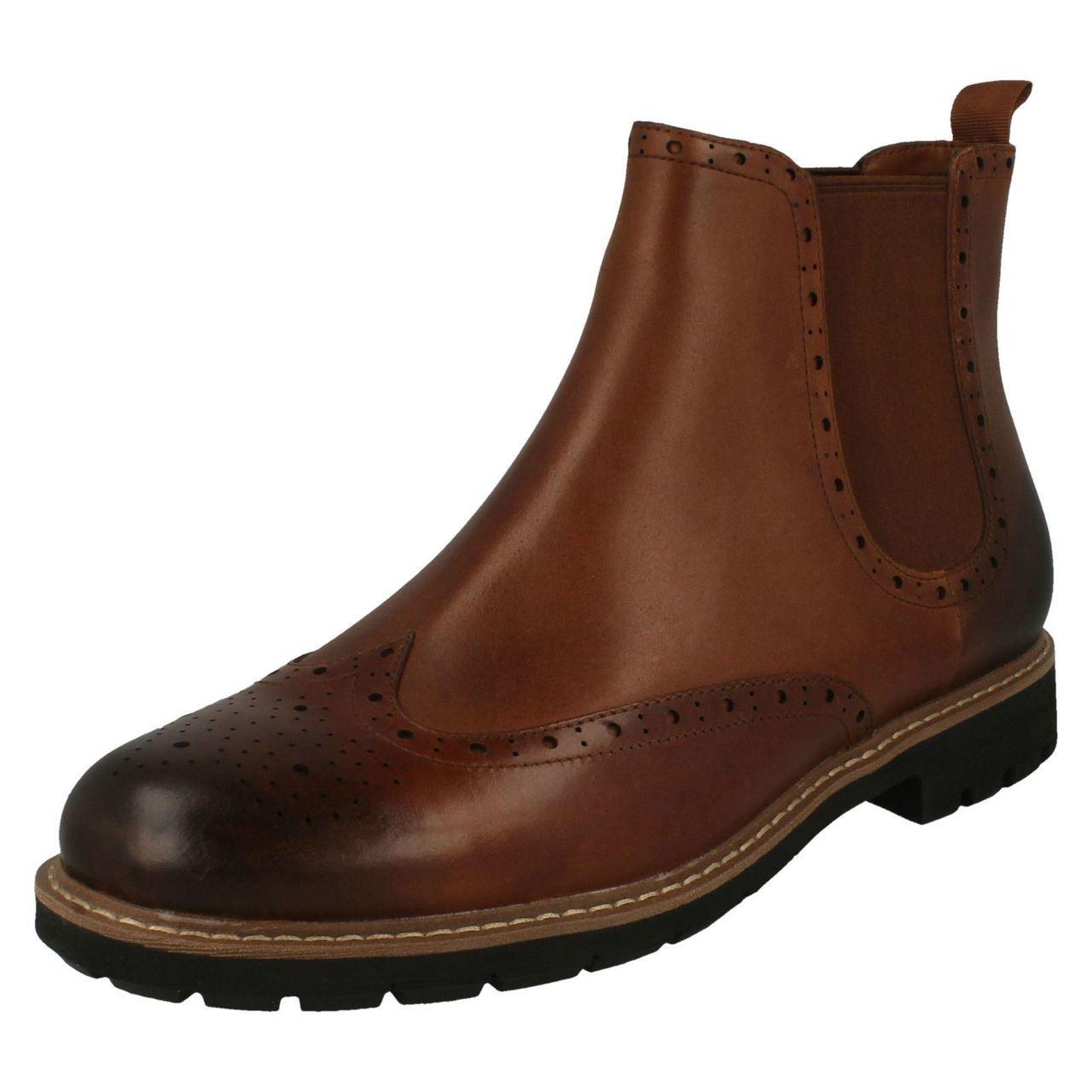 Mens Clarks Smart Chelsea Boots