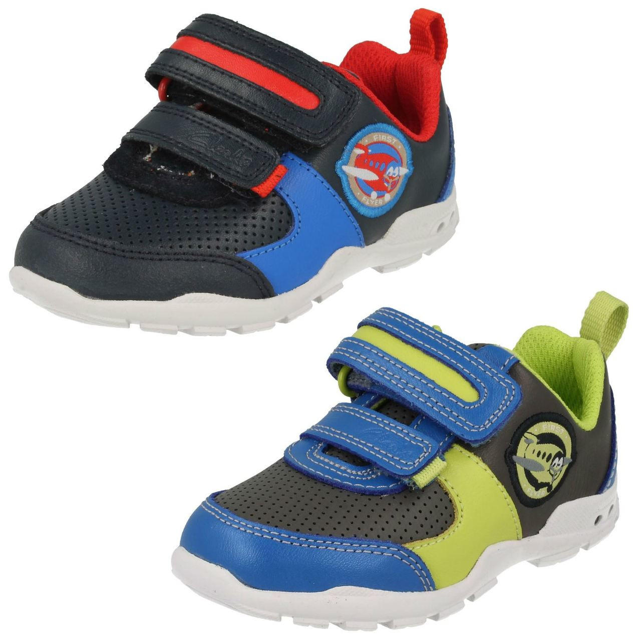 Clarks Boys First Trainers Brite Max