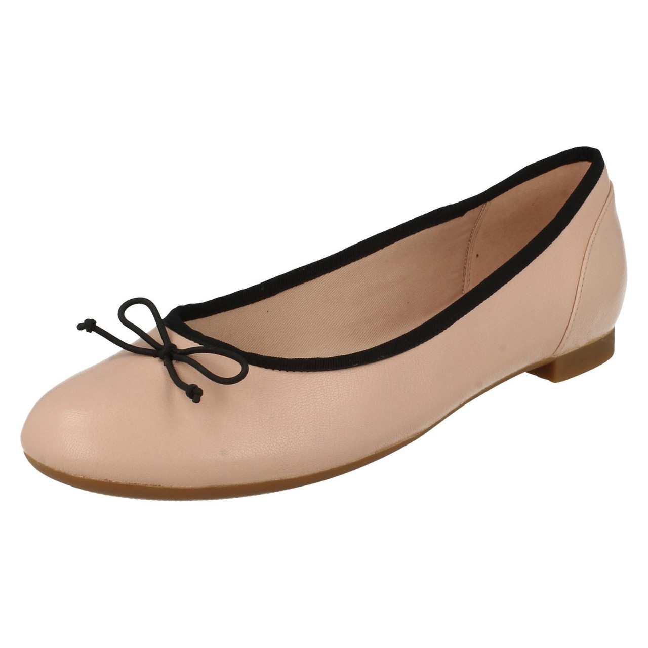 /'Ladies Clarks/' Ballerina Style Flats Couture Bloom