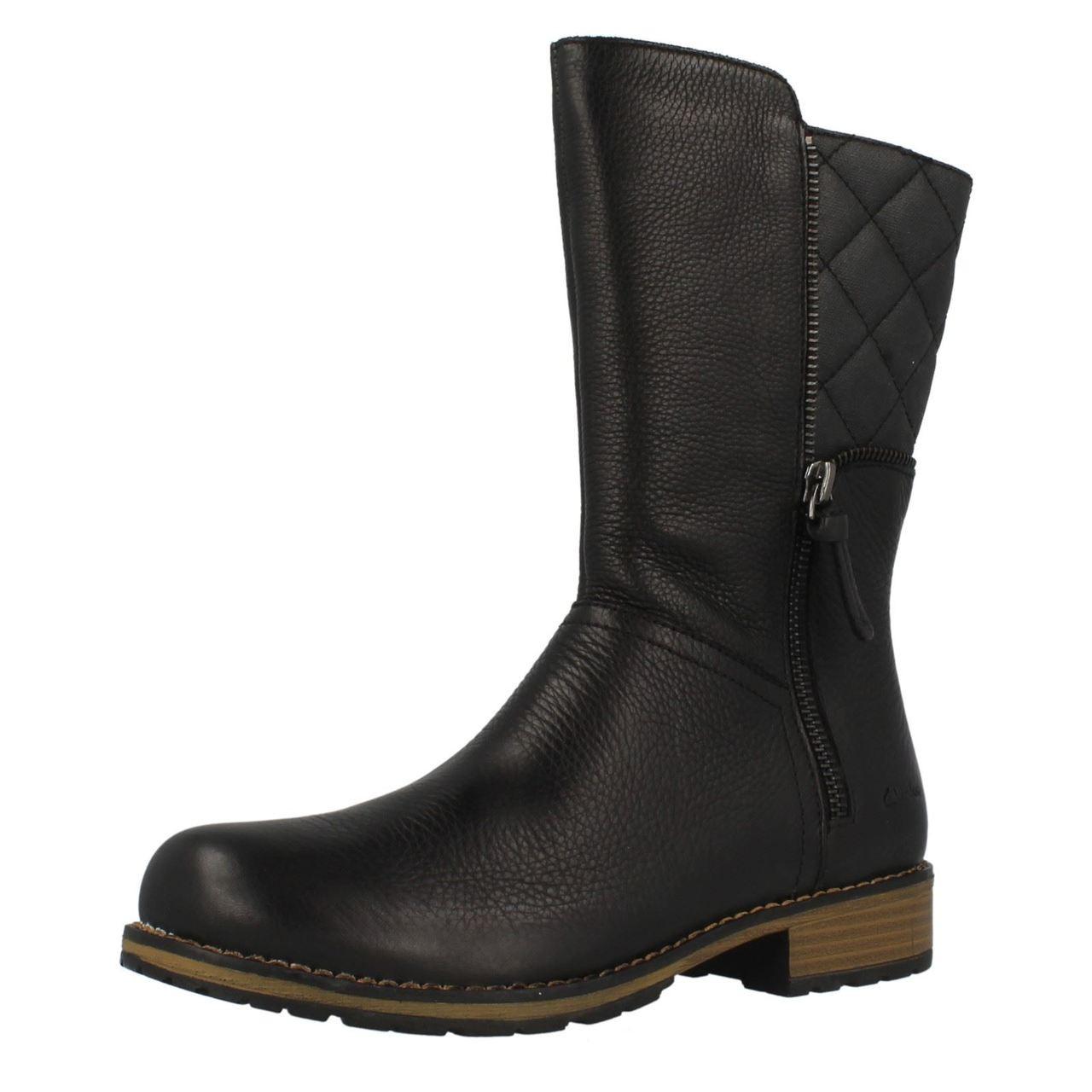 Girls Clarks Mariel Star Mid Calf Boots