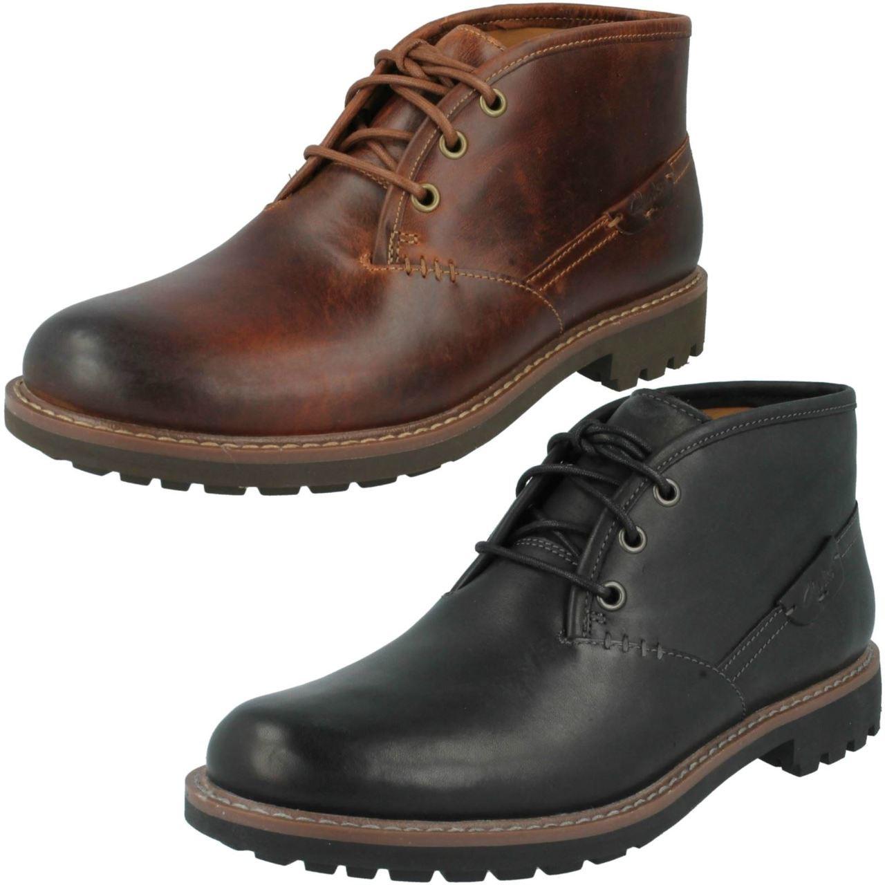 Men Clarks Ankle Boot Montacute Duke