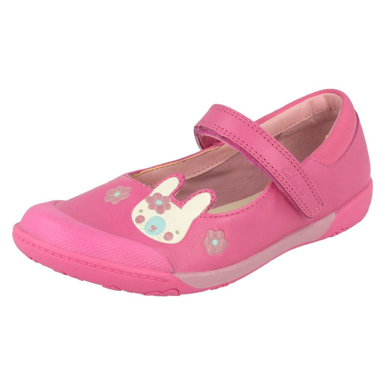 Nibbles Sam /'Girls Clarks/' Binkies School Shoes