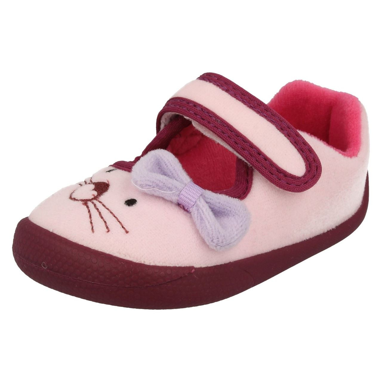 Infant Clarks Girls Slippers /'Magical Sleep/'