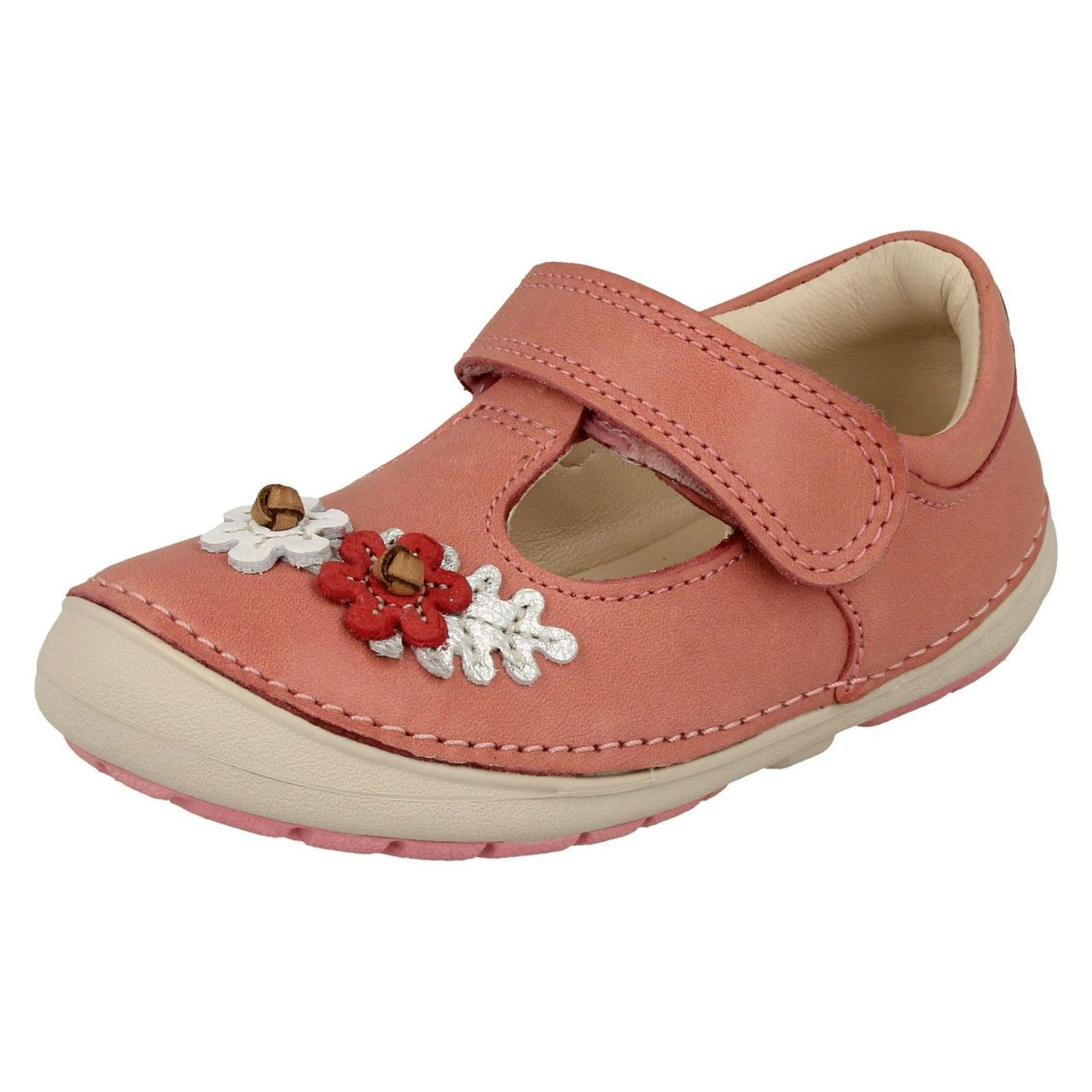 Girls Clarks First Walking Shoes Softly