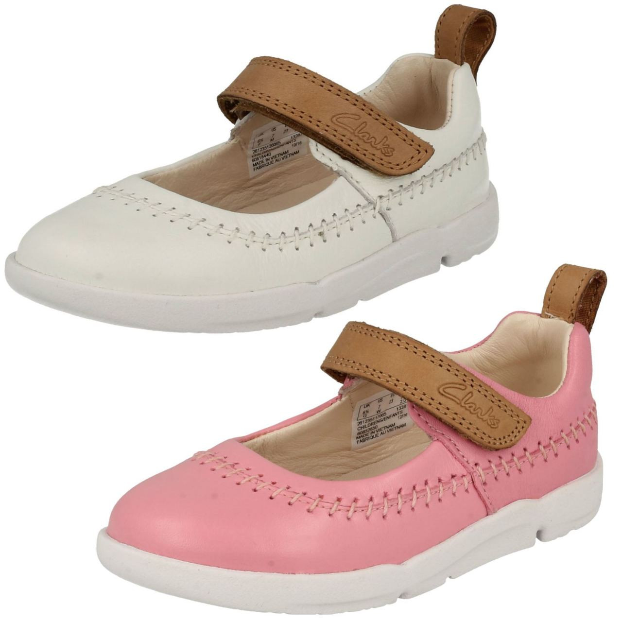 Infant Girls Clarks First Walking Shoes
