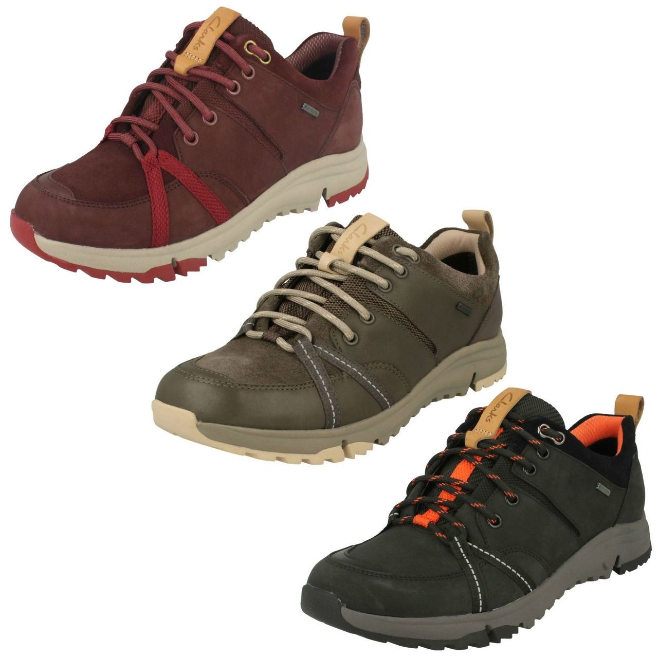 Ladies Clarks Trainer Style Shoes Tri