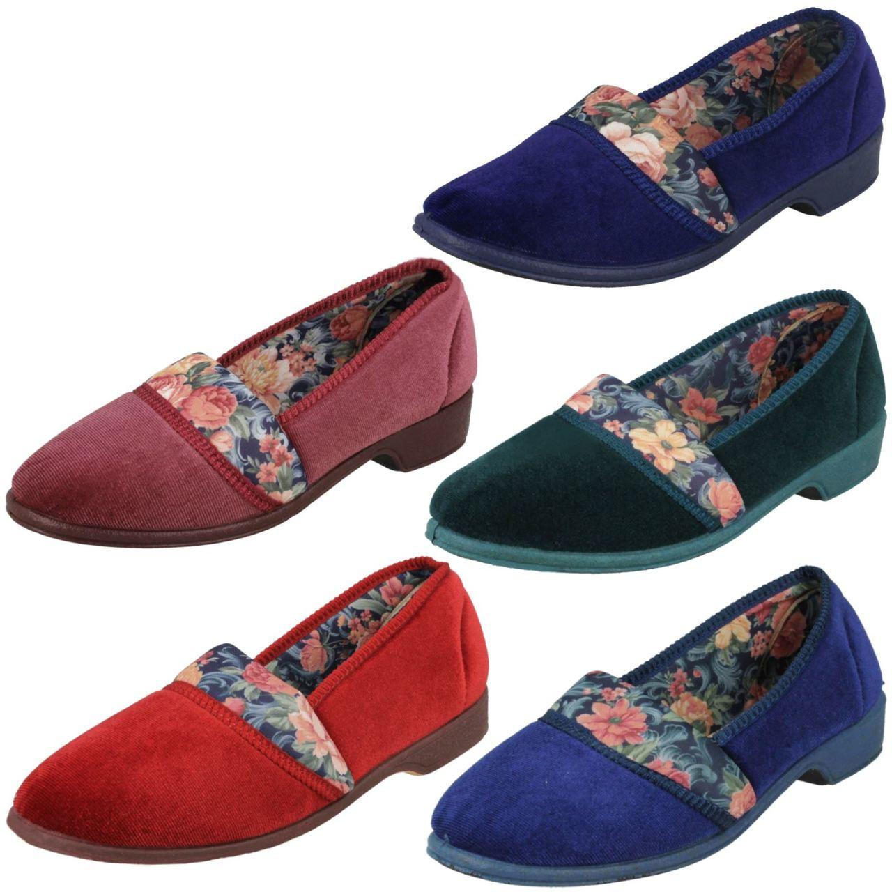 Ladylove Ladies Floral Design Slippers