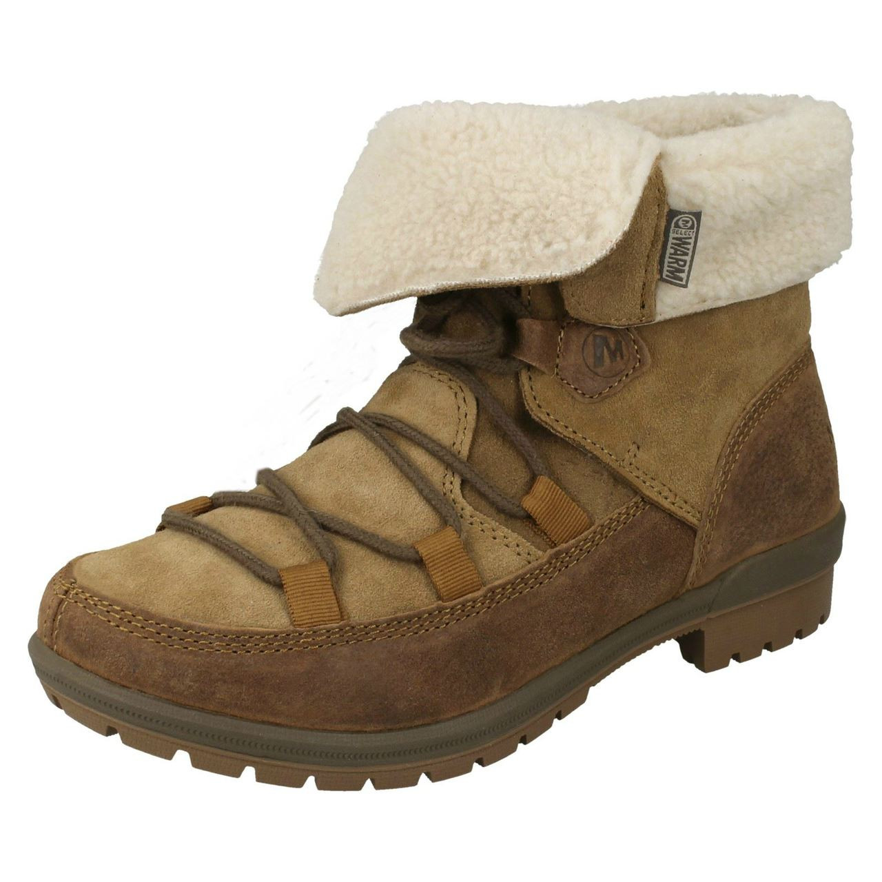Ladies Merrell Ankle Boots Emery Lace