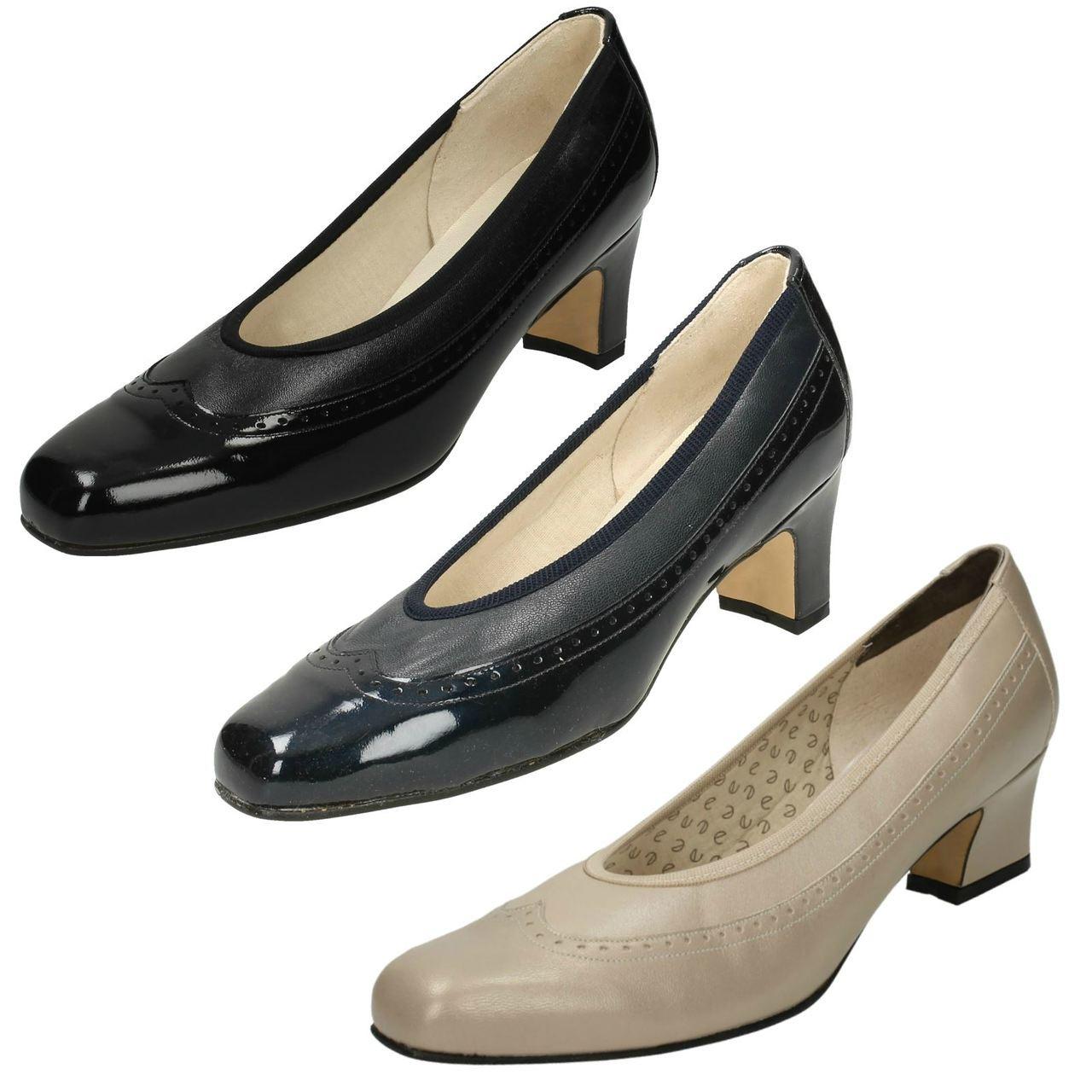 Ladies Nil Simile Narrow Fitting Court Shoes /'Arizona/'