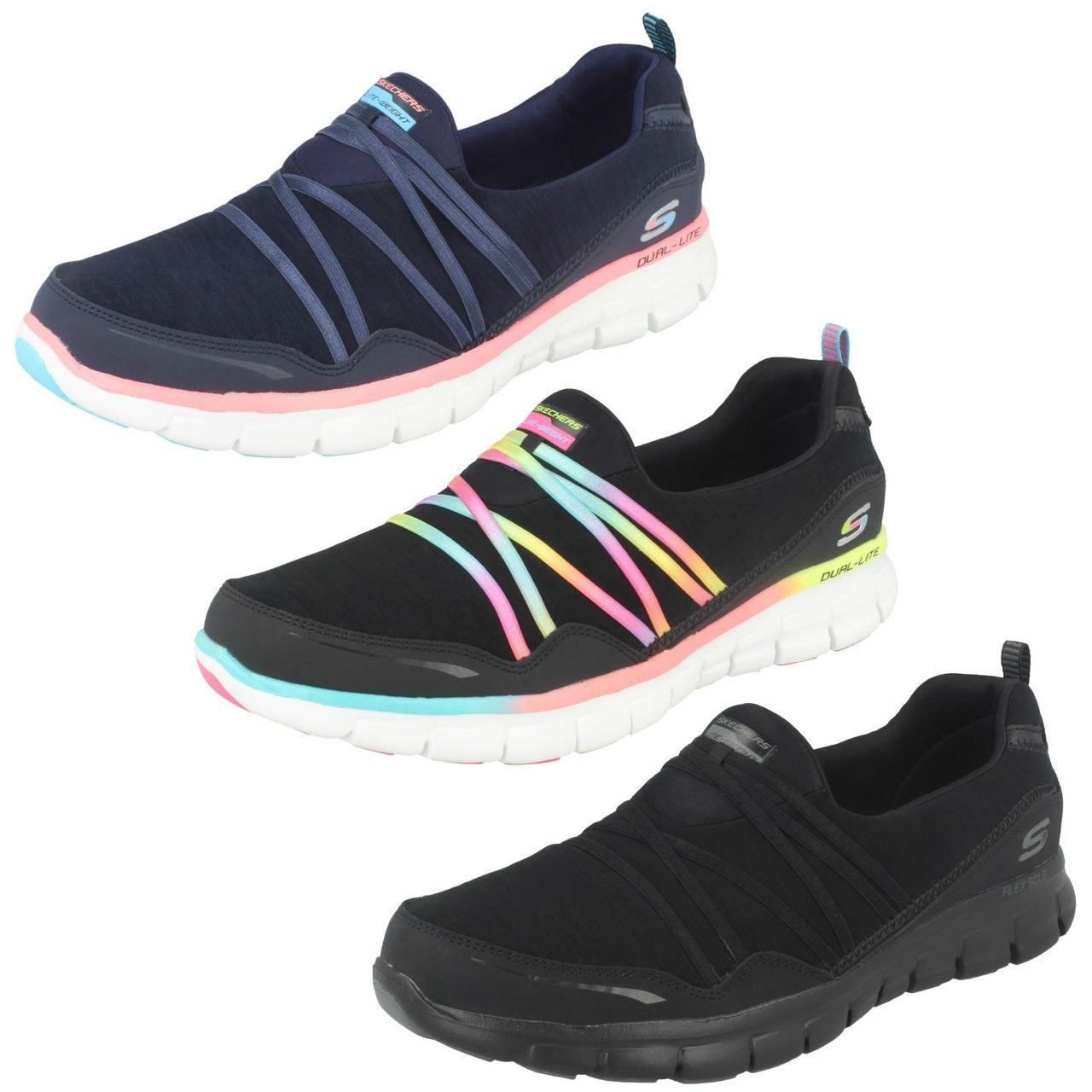 skechers slip on shoes ladies
