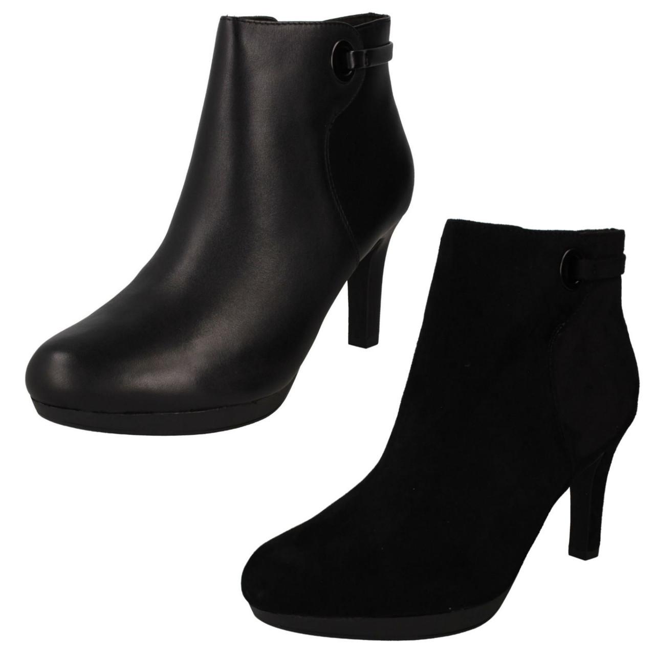 Ladies Clarks Ankle Boots Adriel Mae