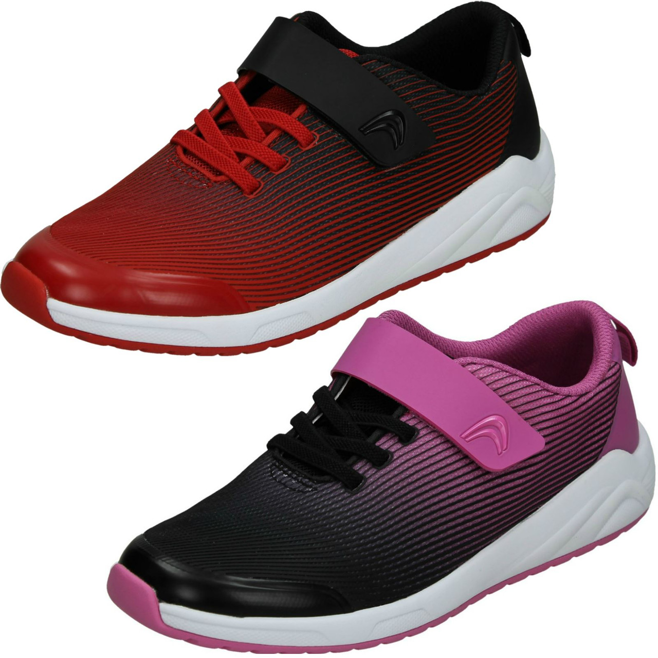 Childrens Clarks Unisex Casual Trainers