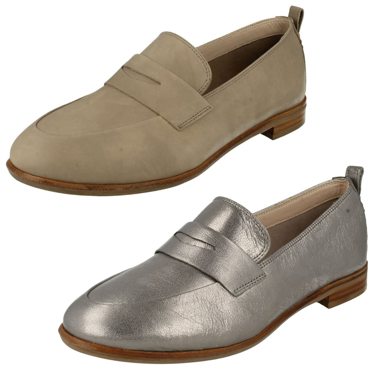 Ladies Clarks Smart Slip On Loafers