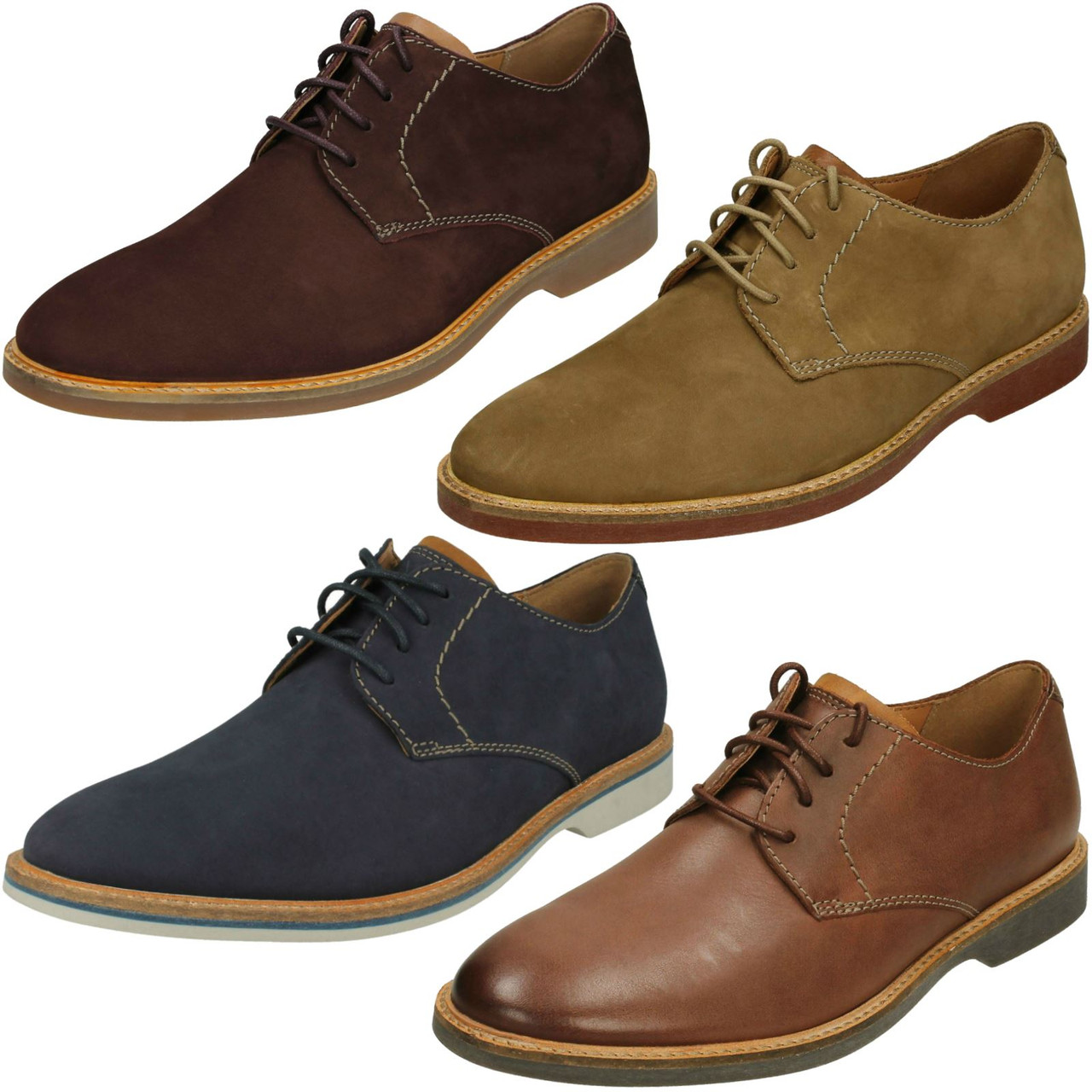 Mens Clarks Casual Lace Up Shoe Atticus